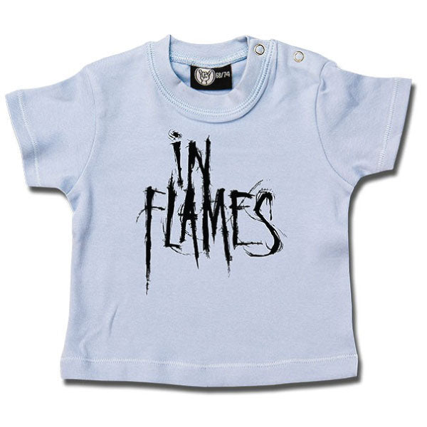 In Flames Baby T-Shirt - Blue