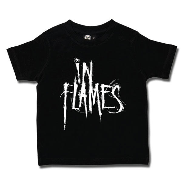 In Flames Kids T-Shirt - Black