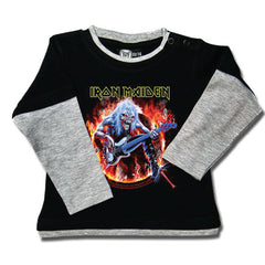 Iron Maiden Baby Long Sleeved T-Shirt - Eddie