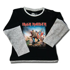 Iron Maiden Baby Long Sleeved T-Shirt - Trooper