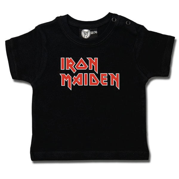 Iron Maiden Baby T-Shirt - Iron Maiden Logo