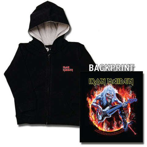 Iron Maiden Kids Hoody - Eddie