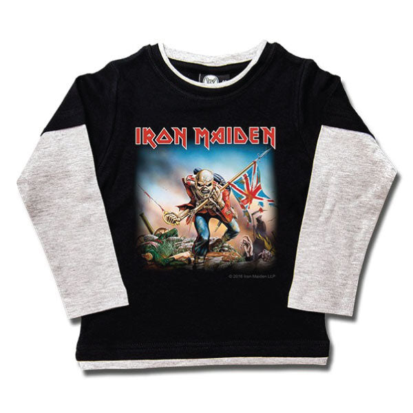 Iron Maiden Kids Long Sleeved T-Shirt - Trooper