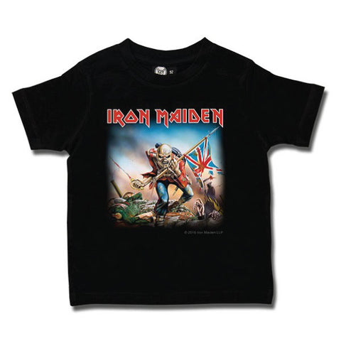 Iron Maiden Trooper Kids T-Shirt