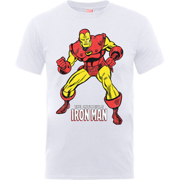 Iron Man Kids T-Shirt by Marvel Comics - White