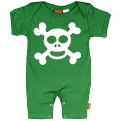 Jolly Roger Baby Romper by Stardust