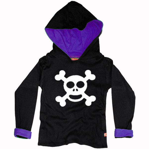 Jolly Roger Kids Hoody by Stardust