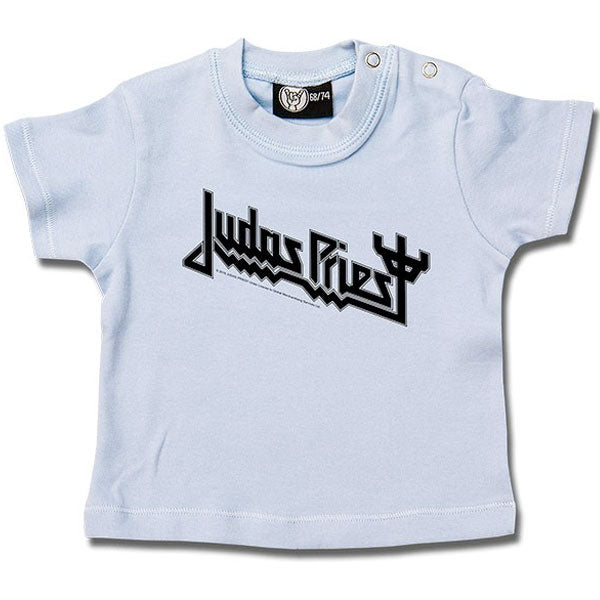 Judas Priest Baby T-Shirt Logo - Blue