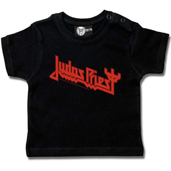 Judas Priest Baby T-Shirt Logo - Black