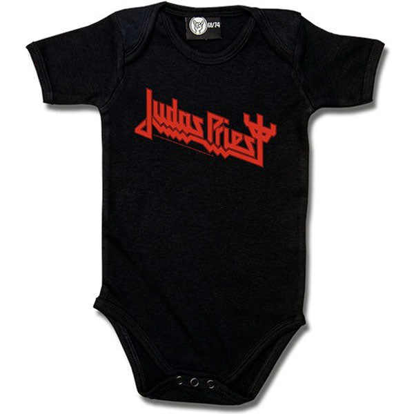 Judas Priest Black Babygrow - Logo