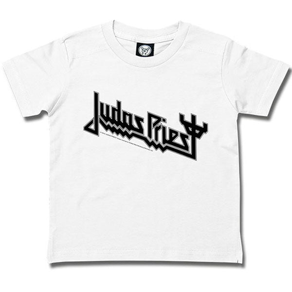 Judas Priest Kids T-Shirt Logo - White
