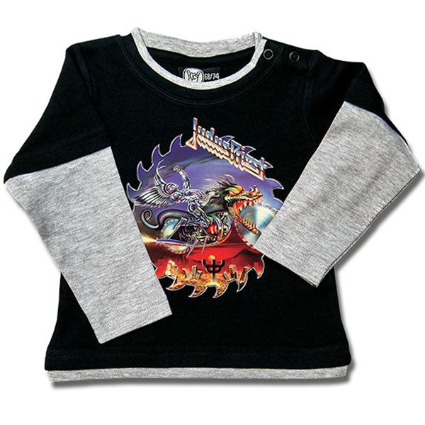 Judas Priest Long Sleeve Baby T-Shirt - Painkiller