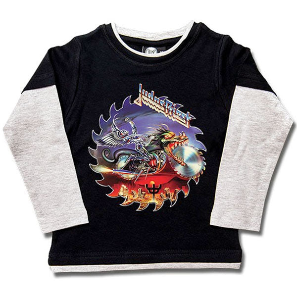 Judas Priest Long Sleeve Kids T-Shirt - Painkiller