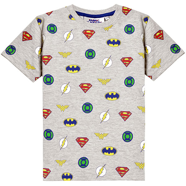 Justice League Kids T-Shirt - Multi Logo