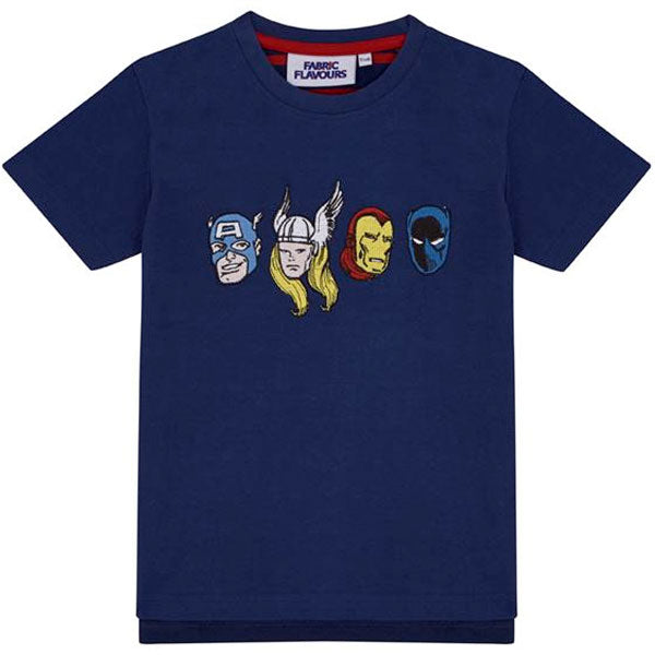 Marvel Avengers Kids T-Shirt - Marvel Heroes Heads