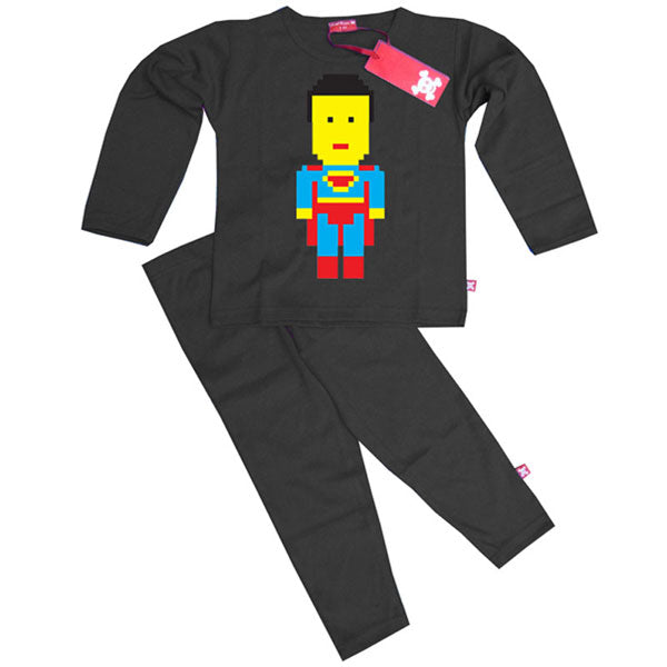 Lego Superman Kids Pyjamas by Stardust