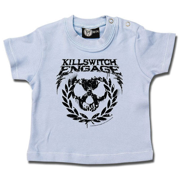 Killswitch Engage Baby T-Shirt Blue - Logo