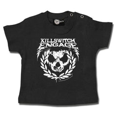 Killswitch Engage Baby T-Shirt Grey - Logo