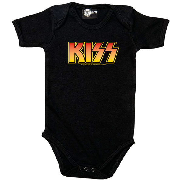 KISS Babygrow - Orange Logo