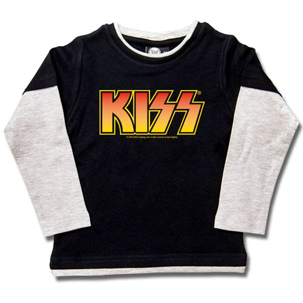 KISS Kids Long-Sleeve T-Shirt - Orange Logo