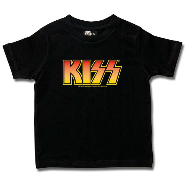 KISS Kids T-Shirt - Orange Logo