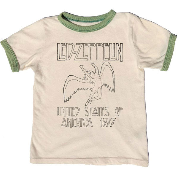 Led Zeppelin Kids T-Shirt - USA Tour 1977