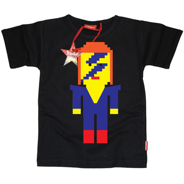Lego David Bowie Kids T-Shirt by Stardust
