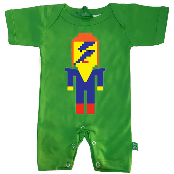 Lego David Bowie Baby Romper by Stardust