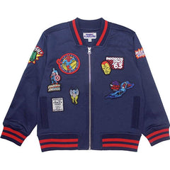 Marvel Kids Bomber Jacket - Marvel Badges