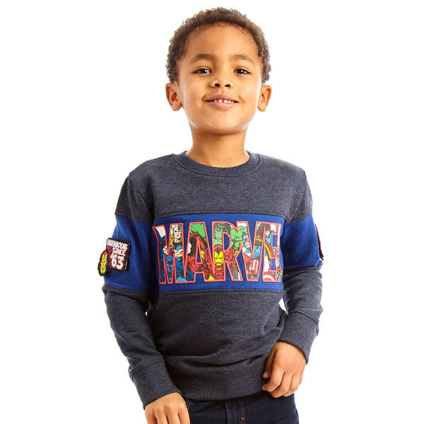 Marvel Kids Sweatshirt - Marvel Logo