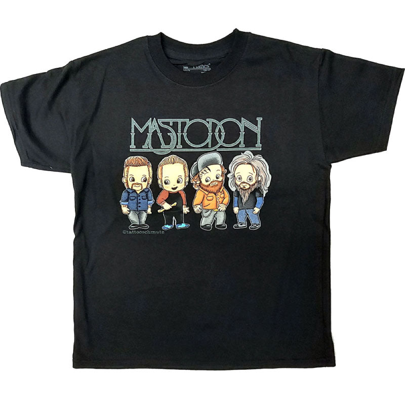 Mastodon Kids T-Shirt - Cartoon Band Members