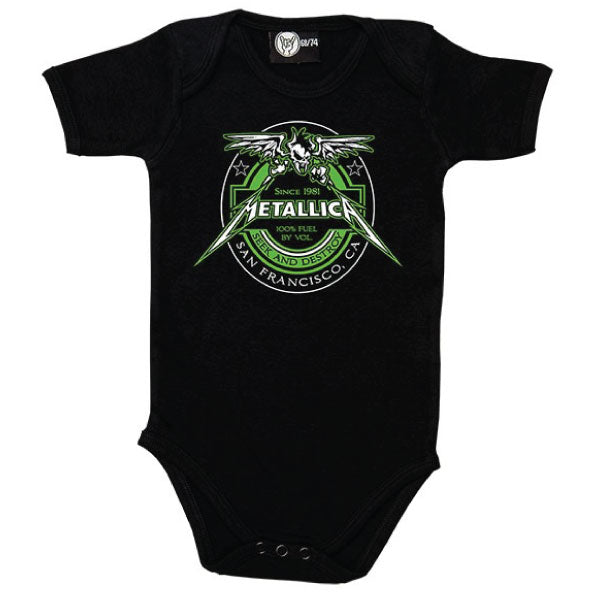 Metallica Babygrow - Seek and Destroy