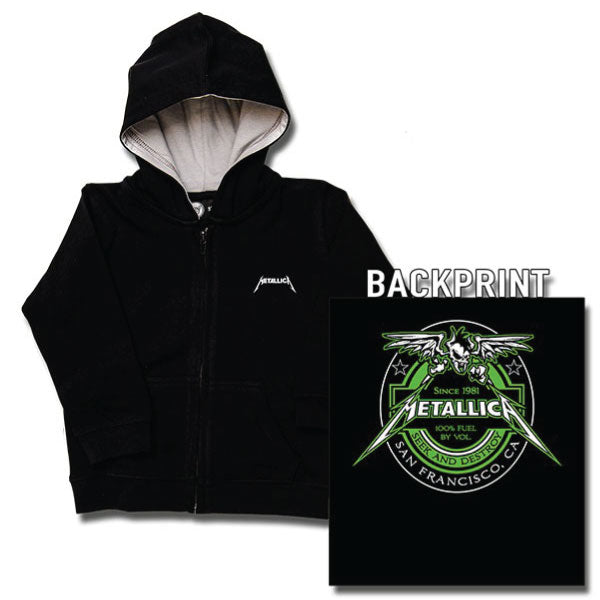 Metallica Baby Hoodie - Seek and Destroy