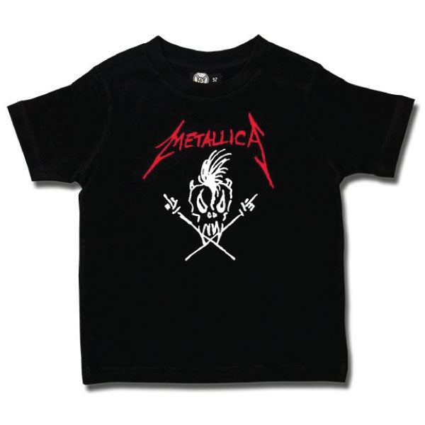 Metallica Kids T-Shirt - Scary Guy Logo