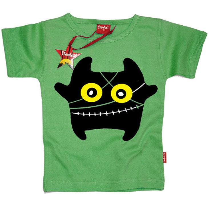 Monster Frankenstein Kids T-Shirt by Stardust