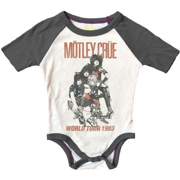 Motely Crue Babygrow - World Tour 1983