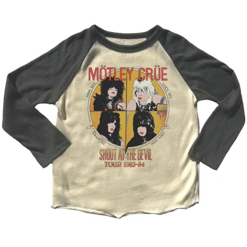Motley Crue Kids T-Shirt - Shout At The Devil Tour 1983-84