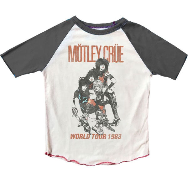 Motley Crue Kids T-Shirt - World Tour 1983