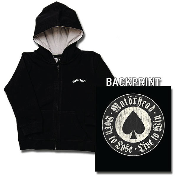 Motorhead Baby Hoody - Born To Lose / Live To Win