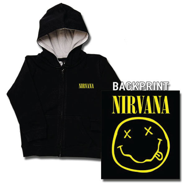 Nirvana Baby Hoody - Smiley Face
