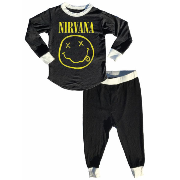 Nirvana Kids Thermal Pyjamas - Smiley