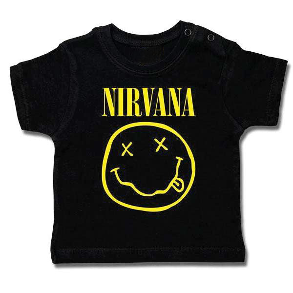 Nirvana Baby T-Shirt - Smiley Face
