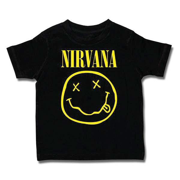 Nirvana Kids T-Shirt - Smiley Face
