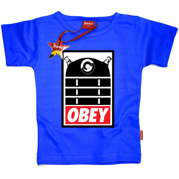 Obey Dalek Kids T-Shirt by Stardust