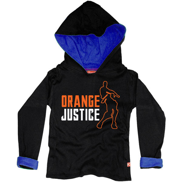 Orange Justice Kids Hoody