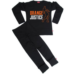 Orange Justice Kids Pyjamas