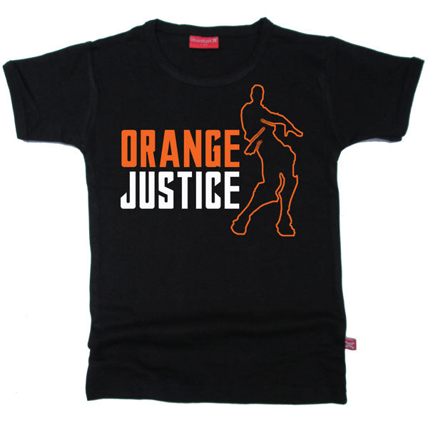 Orange Justice Kids T-Shirt