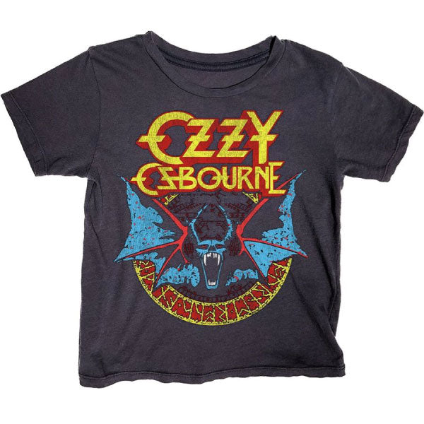 Ozzy Osbourne Kids T-Shirt - Bat Artwork