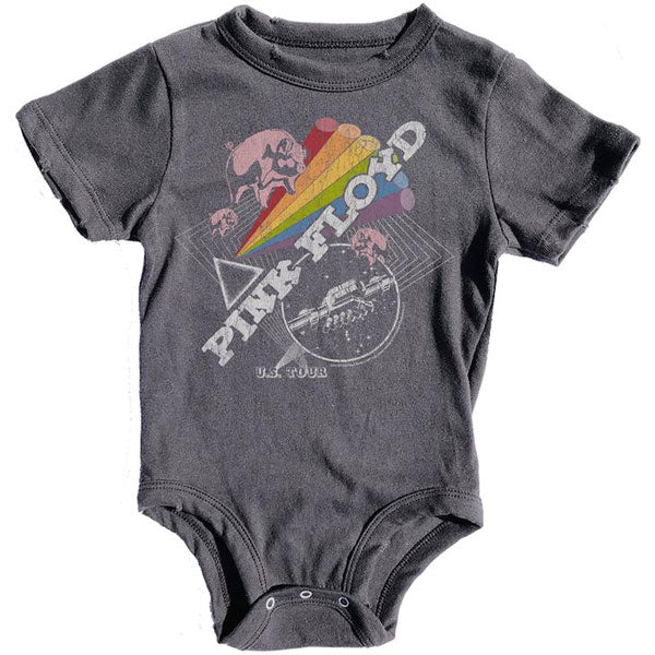 Pink Floyd Babygrow - US Tour Artwork - Rowdy Sprout