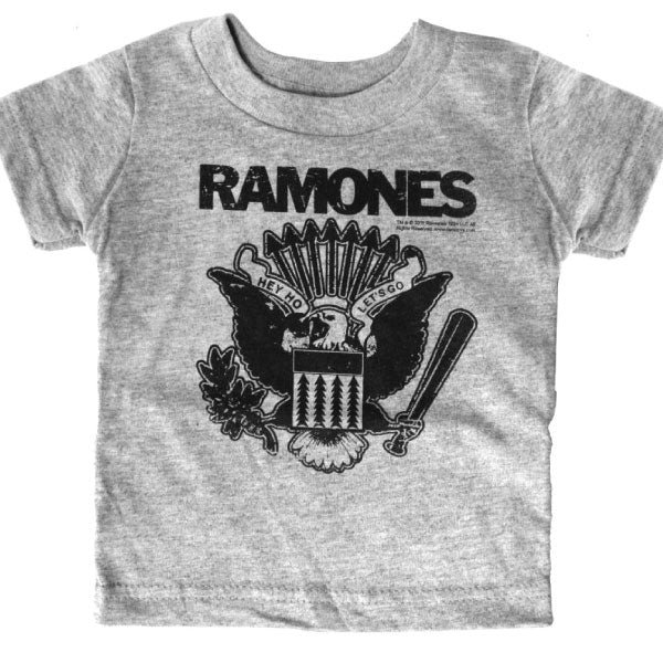 Ramones Punk Kids T-Shirt - Hey Ho Let's Go